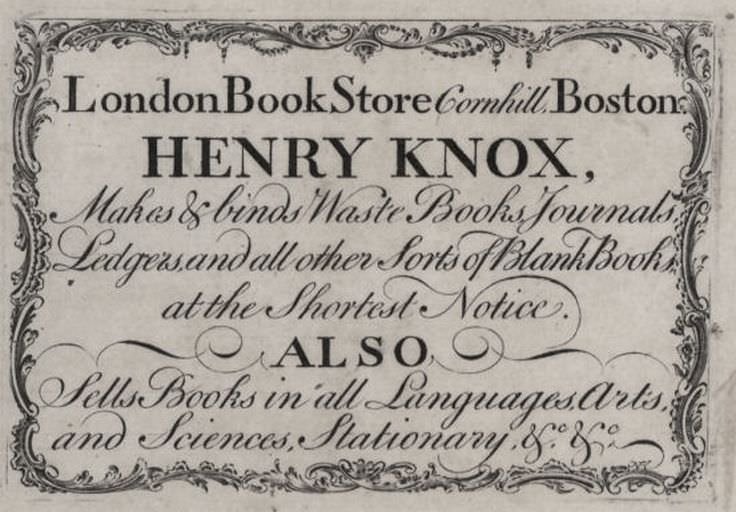 Henry Knox - Celebrity biography, zodiac sign and famous quotes