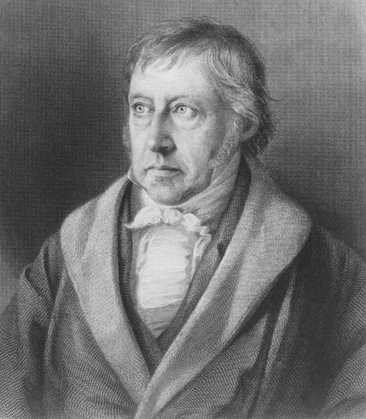 a biography of hegel a german philosopher As george santayana noted in egotism in german philosophy hegel: a biography  e-mail the difficulty with hegel by roger kimball.