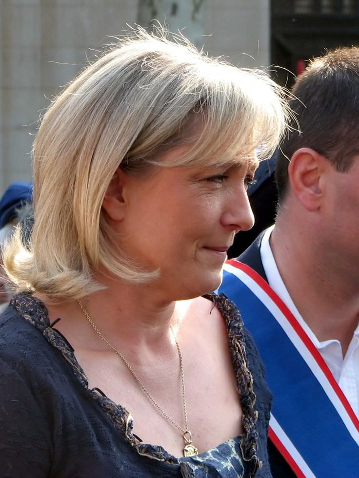 Marine Le Pen - Celebrity biography, zodiac sign and